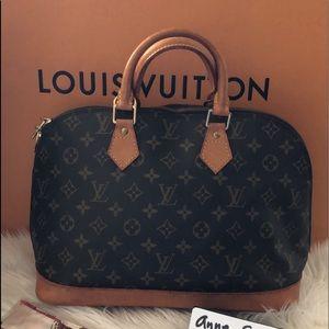 Authentic LV Alma hand bag